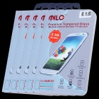 MILO HW01 Blue Ray Anti Myopia Tempered Glass Screen Protector for Samsung S4 - Transparent (5PCS)