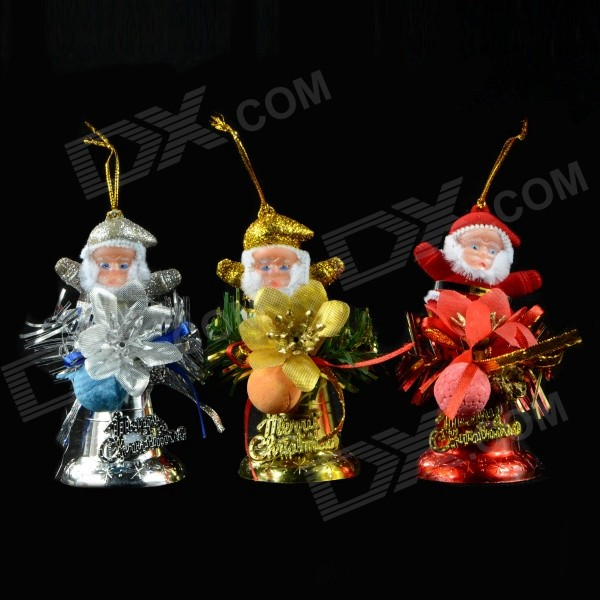 Santa Claus Christmas Hanging Gadgets Set (3 PCS)