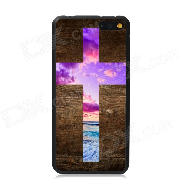 Elonbo The Cross of Beautiful Plastic Hard Back Case Cover for Amazon Fire Phone elonbo the lovely deer mr plastic hard back case for amazon fire phone grey brown multi color