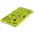 "ENKAY Cartoon Print Protective Matte Non-slip Case Back Cover for 4.7"" IPHONE 6 - Yellow"