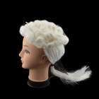 Halloween Lawyer Style Wig - White