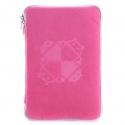 "Universal Android Robot Pattern Protective Sleeve Pouch Bag Case Cover for 7"" Tablet PC - Pink"