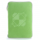 "Universal Android Robot Pattern Protective Sleeve Pouch Bag Case Cover for 7"" Tablet PC - Green"