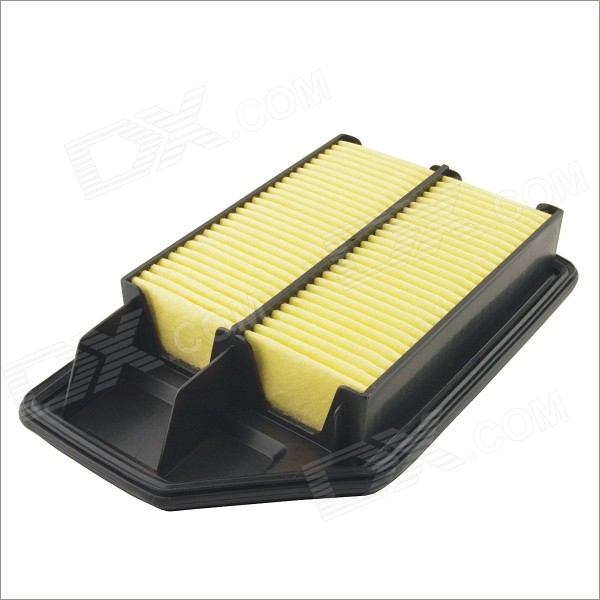 17220-REJ-W00 Replacement Air Filter Cleaner for Honda Fit Saloon - Black + Yellow air compressor afc2000 oil water separator regulator trap filter airbrush