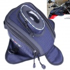 PRO-BIKER G-XZ-026 Multi-Function Motorcycle Fuel Tank Bag - Blue + Black