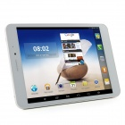 "Ampe A83 Quad Core 3G 7.85 ""Android 4.4.2 Tablet PC w / 1GB RAM, 8GB ROM, GPS, BluetoothWi-Fi - Wit"