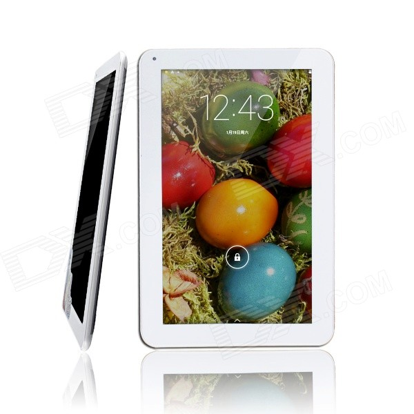 ICOO Q108G 10.1'' TFT Screen Dual-Core Android 4.2 3G Tablet PC w/ Dual Camera / WiFi / GPS /8GB ROM