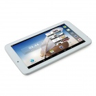 "AMPE A77 7 ""Android 4.4 A33 Quad Core Tablet PC w / 8 Go ROM, connexion Wi-Fi, double caméra - blanc"