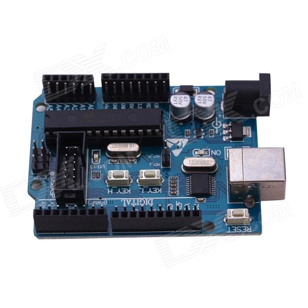atmega8a avr Development Board for Arduino UNO R3 - Deep Blue