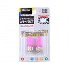 Merdia T10 0.5W 90lm 5 x SMD 5050 Pink Light Car Instrument Lamp (12V / 2PCS)