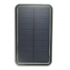 "ODEM J1.2 Solar Powered ""12000mAh"" External Battery Charger Power Source Bank for IPHONE - Black"