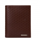 BOVIS HF122-12 Men's Fashionable Casual PU Leather Short Wallet - Brown