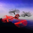 HongTai F802 2.4GHz 4-Axis R/C Quadcopter w/ Gyro - Red + Black