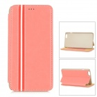 "Protective Flip-Open PU + PC Case w/ Stand / Card Slot for IPHONE 6 PLUS 5.5"" - Pink"