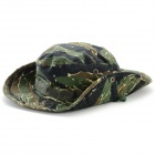 S0607798 Stylish Military Camouflage Four Seasons Round Cap - Tiger Stripe