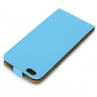 "Protective Top Flip-Open PU Case for IPHONE 6 PLUS 5.5"" - Blue"