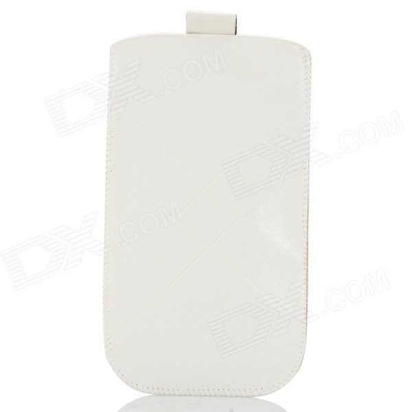 Protective PU Leather Case for IPHONE 6 - White