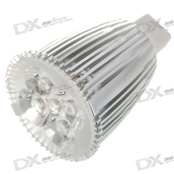 MR16 5W 5-LED 400-Lumen 3500K Light Bulb - Warm White (12V)