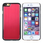 """Bluestar Protective PC + Aluminum Alloy Back Case Cover for IPHONE 6 4.7"""" - Red + Black"""