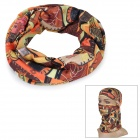 Wild Color C5011 Africa Pattern Outdoor Cycling Headband / Face Mask / Neck Scarf - Multi-colored