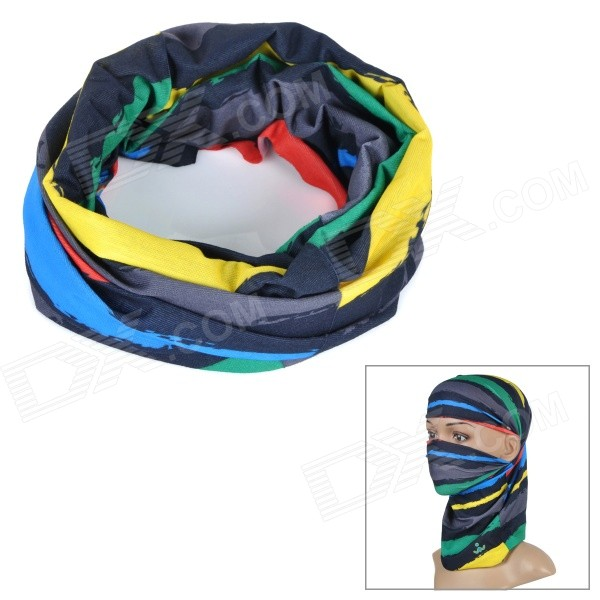 Wild Color C3020 Outdoor Cycling Headband / Face Mask / Neck Scarf - Multi-colored