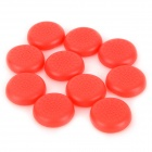 Buy Anti-Slip TPU Joystick Thumbstick Cap Covers PS4 / XBOX ONE - Red (10 PCS)