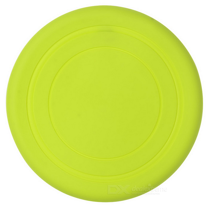 Super Soft Frisbee UFO Style Silicone Indoor / Outdoor Toy for Pet Dog - Light Green dog supplies silicone pet frisbee soft light training pet dog toys