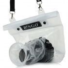 BINGO WPG1 Waterproof Protective PVC Camera Bag Case - White + Transparent