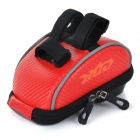 CBR CBR-010 Bike Handlebar Mounted Touch Screen Phone Pouch Case Bag w/ Glare Shield - Red
