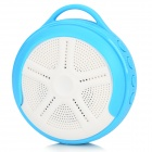 Outdoor Sport Portable Handsfree Bluetooth V4.0 Speaker w/ Microphone / TF - White + Blue