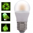 E27 6W 380ml 3000K LED White Light Bulb Lamp w/ Quantum Dots and Remote Posphor Tech (AC100-240V)