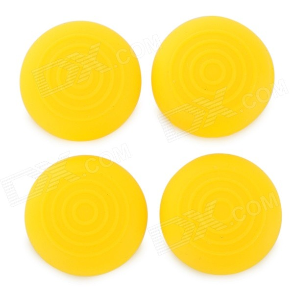 Silicone Thumb Grips Joystick Caps for PS2 / PS3 / PS3 Slim / PS4 / XBOX ONE / XBOX 360 (4 PCS) silicone thumb grips joystick caps for xbox one xbox 360 ps4 ps3 controller grey 4 pcs