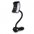 "FSQ-X6 Car Mounted 1.2"" LCD Screen Bluetooth Hands-free Calls + MP3 Player FM Transmitter - Black"