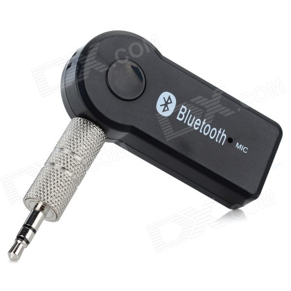 TS-BT35A08 Mini bærbar Bluetooth V3.0 + EDR Audio Receiver w / Mic - Sort
