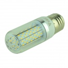 WALANGTING E27 5W 350lm 3500K 120-SMD 3014 LED Warm White Light Lamp - White (AC 100-240V)
