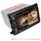 "LSQSTAR 7 ""Android 4.2 2Din Car DVD-Player w / GPS RDS WiFi Canbus IPOD FM für Explorer / Expedition"