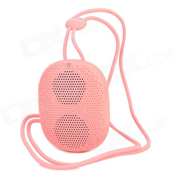 DOSS DS-1196 Portable Mini Handsfree Bluetooth V4.0 Speaker w/ TF / Microphone - Pink doss ds 1511 mini bluetooth speaker portable outdoor music box