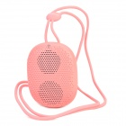 DOSS DS-1196 Portable Mini Handsfree Bluetooth V4.0 Speaker w/ TF / Microphone - Pink