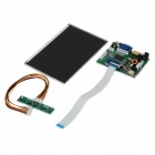 "FineSource 7"" 1280 x 800 Digital TFT LCD Screen + Driver Board for Banana Pi / Raspberry Pi - Black"
