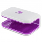DR-622 Portable Professional Electronic Nail Gel Dryer - White + Purple