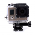 "Wi-Fi HD 1080P 30m Waterproof Mini 12.0MP Sports Camera w/ 0.7"" LCD, Li-ion Battery 1050mAh - Gold"