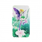 Kinston Flowers Wizard Pattern PU Leather Full Body Cover with Stand for IPHONE 6 PLUS