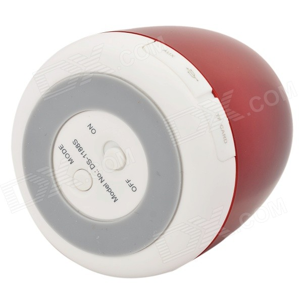 DOSS DS-1188S Portable Gesture Control Wireless Bluetooth V2.0 + EDR Speaker w/ TF - Wine Red doss ds 1511 mini bluetooth speaker portable outdoor music box