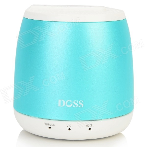 DOSS DS-1188S Portable Gesture Control Wireless Bluetooth V2.0 + EDR Speaker w/ TF - Light Blue doss ds 1511 mini bluetooth speaker portable outdoor music box
