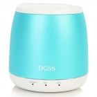 DOSS DS-1188S Portable Gesture Control Wireless Bluetooth V2.0 + EDR Speaker w/ TF - Light Blue