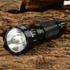Ultrafire 501B-LZZ 900lm 1-Mode Cool White Light LED Flashlight w/ Strap - Black (1 x 18650)