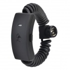 FISH-20 Bluetooth V3.0 Spring Bracelet Headset w/ Microphone - Black