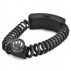 FISH-20 Bluetooth V3.0 Printemps Bracelet Headset w / Microphone - Noir