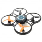 JJRC 600B 2.4GHz 4-CH R/C Quadcopter w/ 300KP Camera / Gyroscope / Lamp - Black + Blue