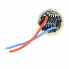 1.2A 5-Mode Memory LED Driver Circuit Board for Flashlight - Golden + Blue